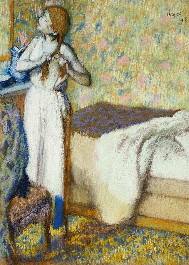 The Tub, the Toilette, & Arranging the Hair in Degas and Cassatt ...