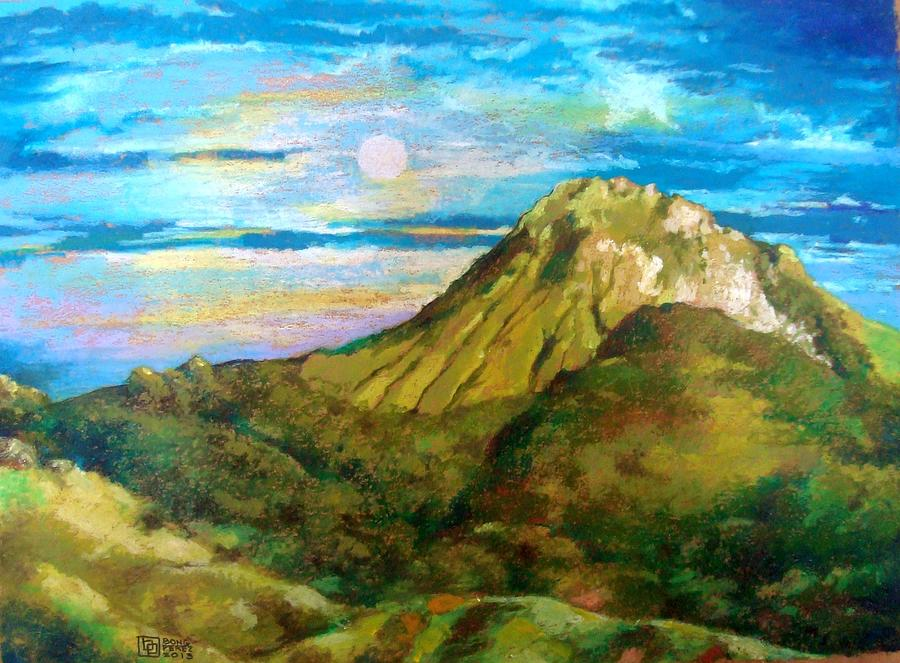 Mount Apo Painting by Bong Perez
