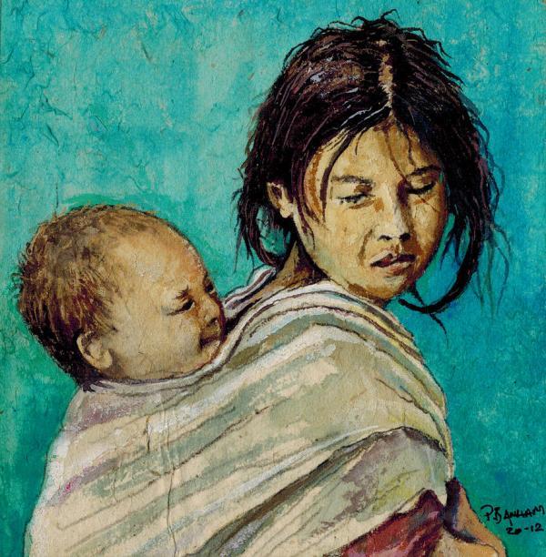 Nepali Art Painting