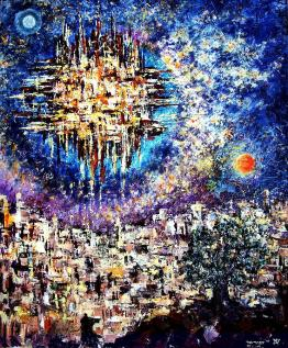 New Jerusalem Revealed Painting by Alexander Sorsher