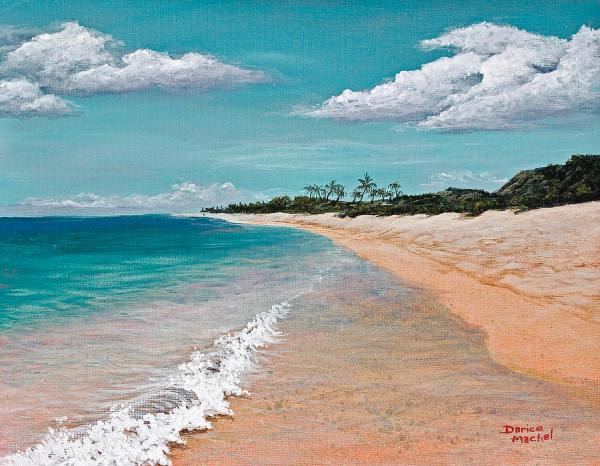 Northshore Oahu Painting by Darice Machel McGuire