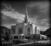 Ogden Utah Lds Temple Photograph by Nathan Abbott