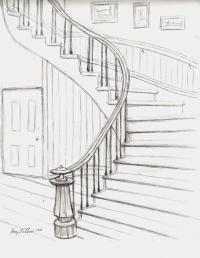 Stairs Drawing | www.pixshark.com - Images Galleries With ...