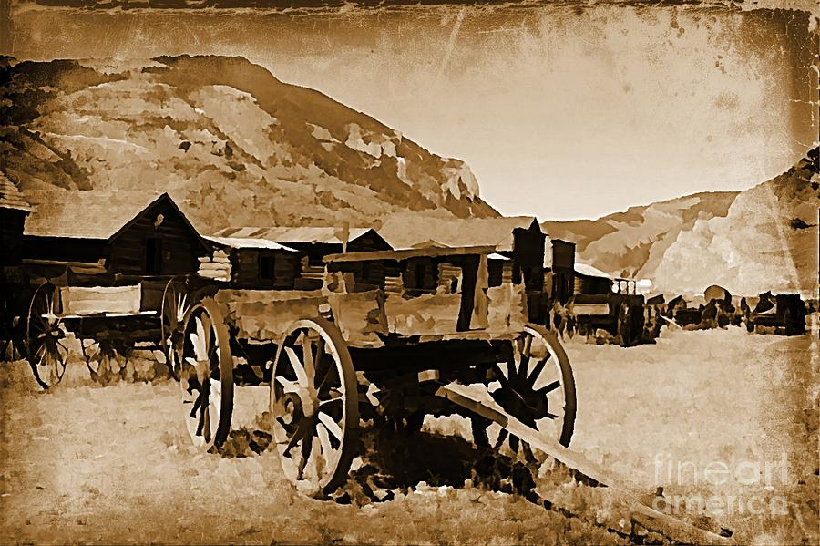 Old West Decor Theme One Photograph by John Malone