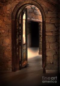 Open Doorways In Old Building Photograph by Jill Battaglia