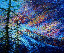 original abstract impressionist