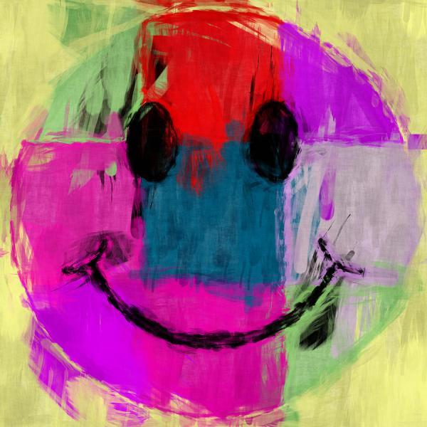 Happy Smiley Face Art