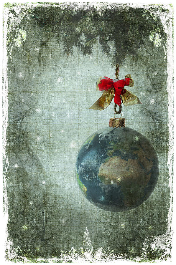 Peace On Earth Digital Art By Marie Gale