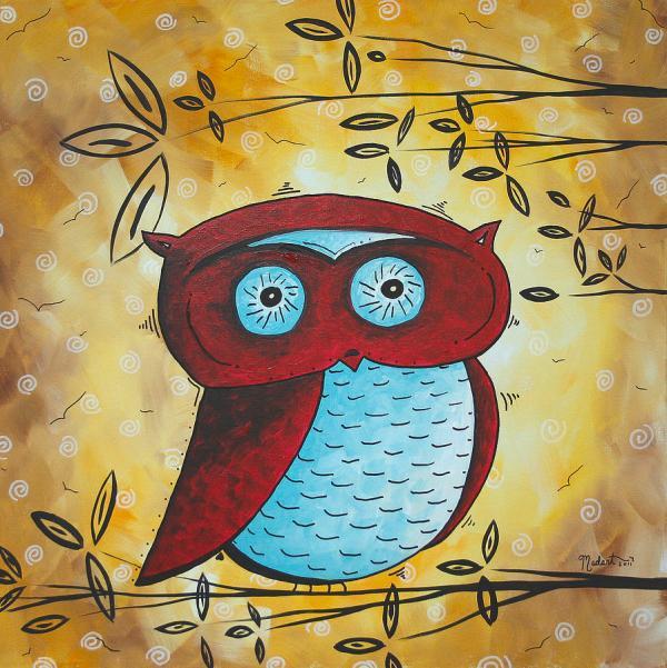 Peekaboo Madart Painting Megan Duncanson