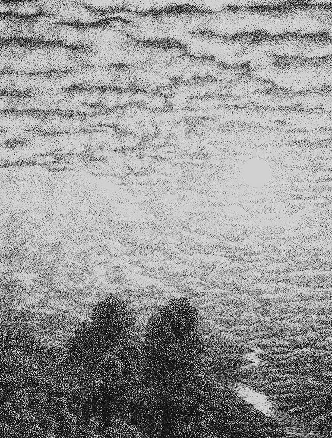 Pen And Ink Clouds : clouds, Drawing, Clouds, Installer