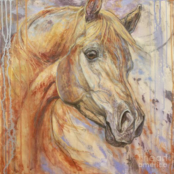 Arabian Horse Art Painting