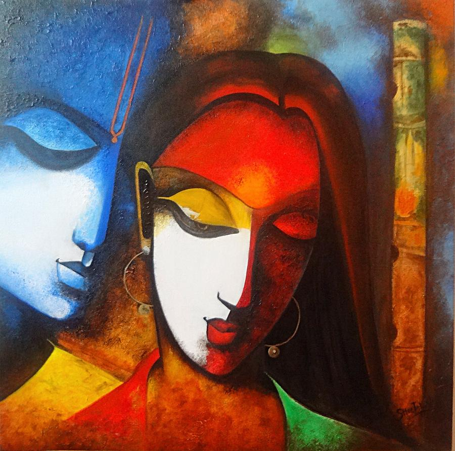 Image Result For Contemporary Indian Wall Art