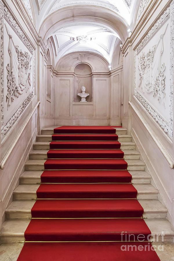 Royal Palace Staircase by Jose Elias