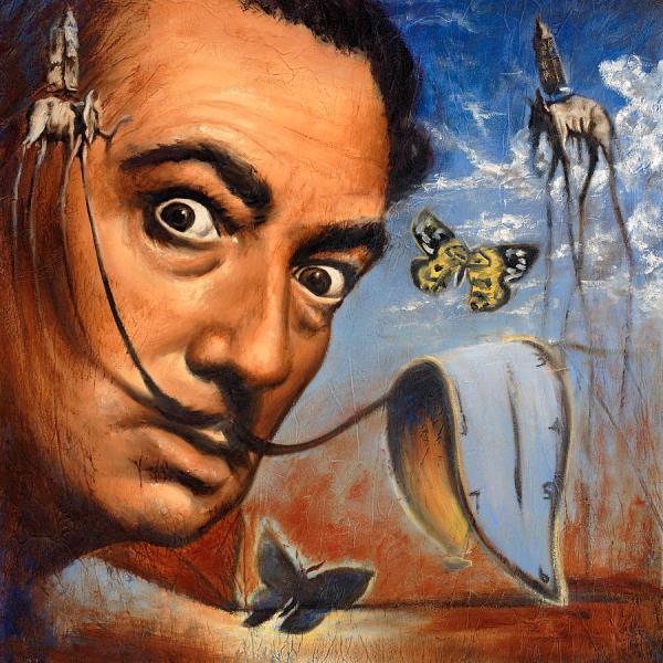Salvador Dali Portrait Paintings