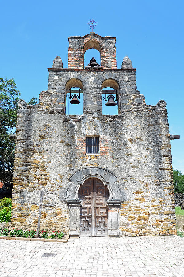 San Antonio Missions National Historical Park Mission Espada Facade Exterior Photograph By Shawn