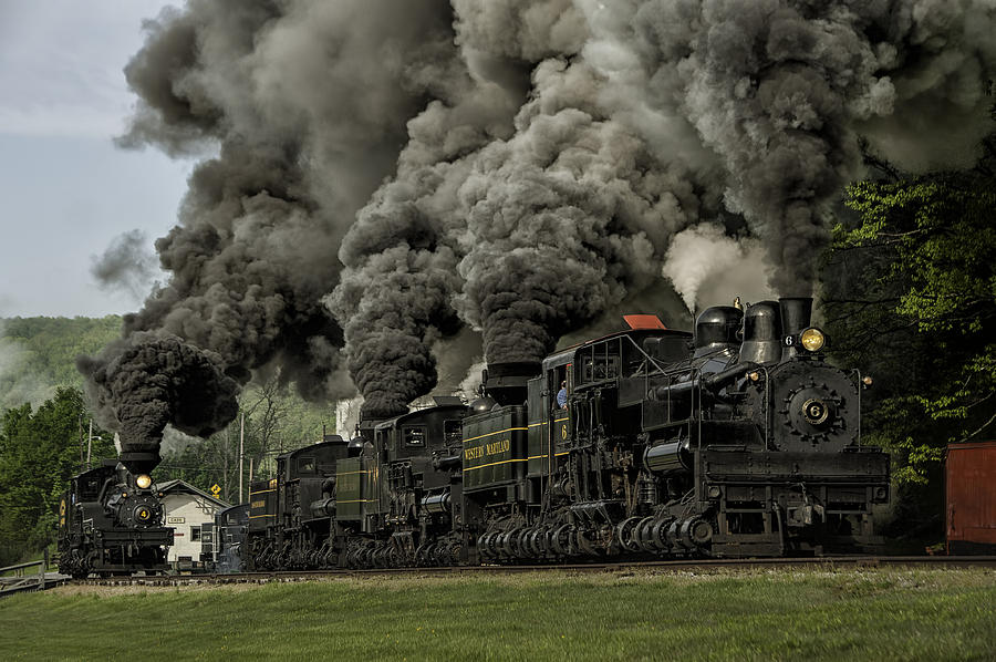 Girl Tshirts Hd Wallpaper Shay 4 5 11 And 6 Bellowing Black Coal Smoke Photograph By