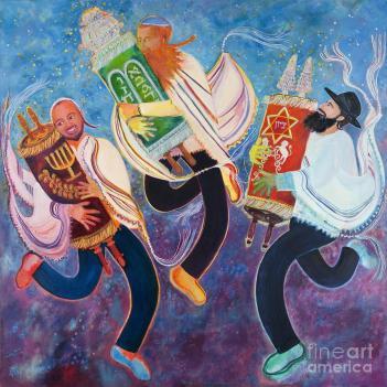 Simchat Torah by Chana Helen Rosenberg