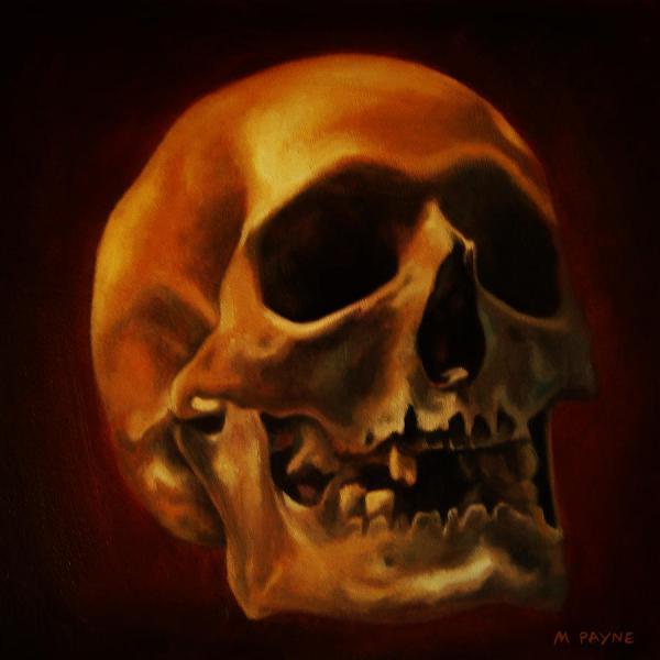 Skull Art Painting