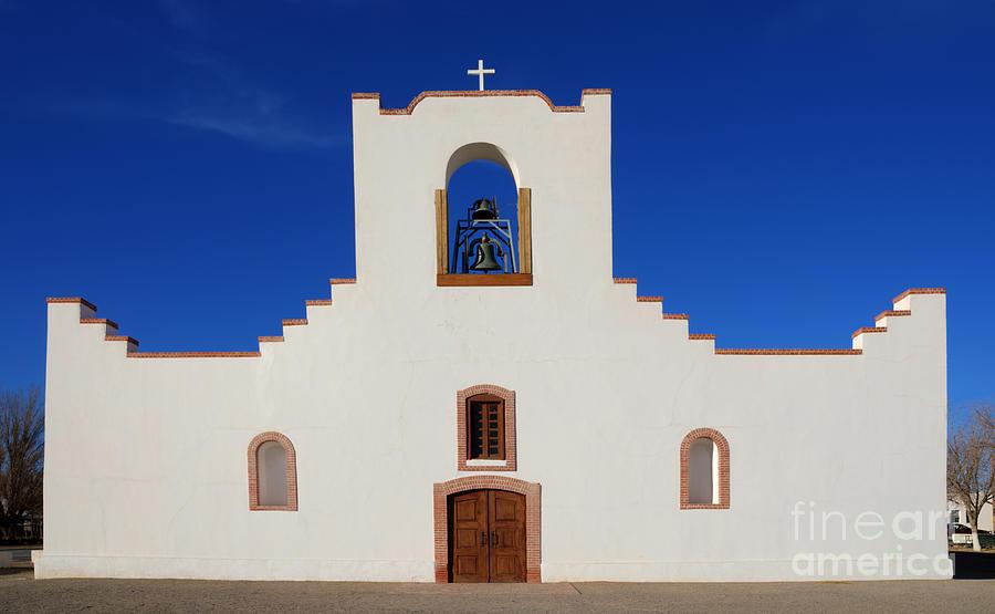 Socorro Mission La Purisima Texas Photograph by Bob