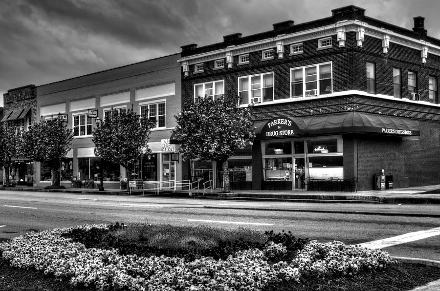Spring In Murphy North Carolina In Black And White