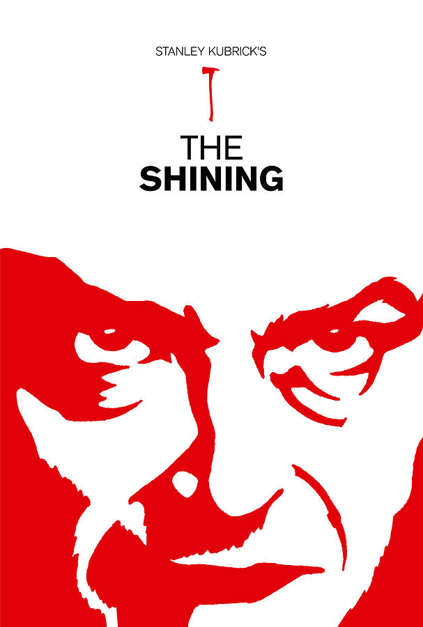 stanley kubrick the shining movie poster by kevin trow