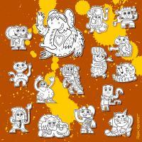 Street Art Doodle Creatures Urban Art Digital Art by Frank ...