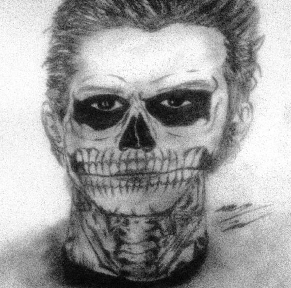 Tate Langdon Drawing Corey Hopper