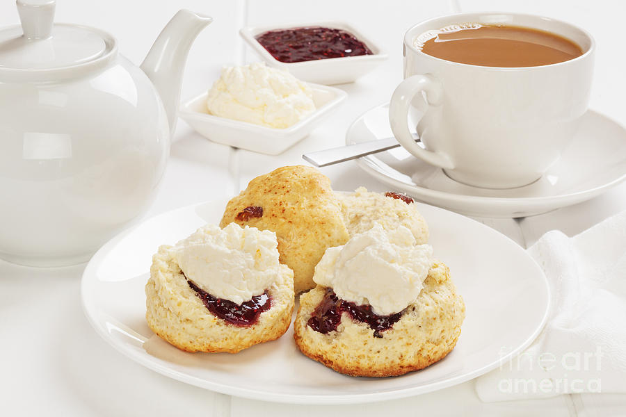 Image result for scones and tea