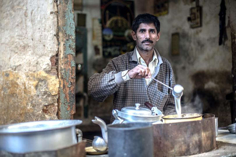 Tea Boy Photograph by Umair Siddiqui