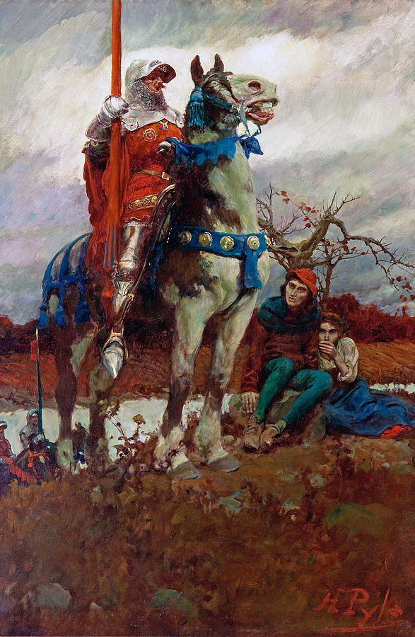 Image result for howard pyle painting