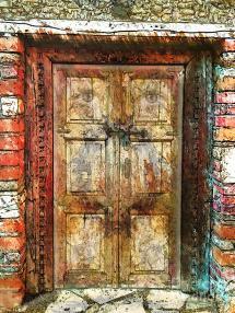 doors of perception mixed media
