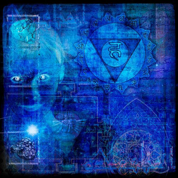 Throat Chakra Digital Art Mark Preston