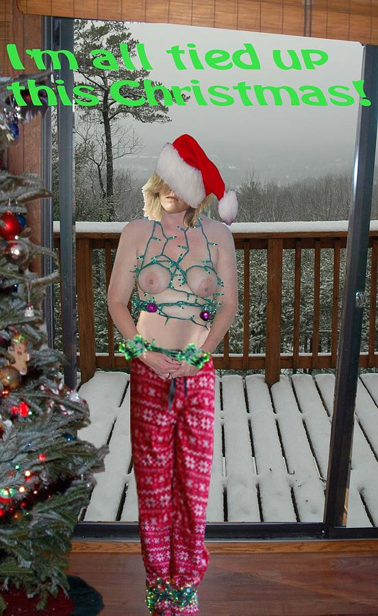 Tied Up For Christmas Photograph By Broken Soldier