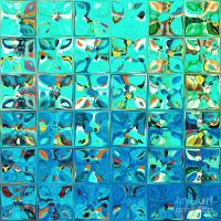 Tile Art 8 2013. Modern Mosaic Tile Art Painting Painting ...