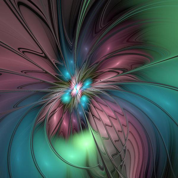 Abstract Fractal Art