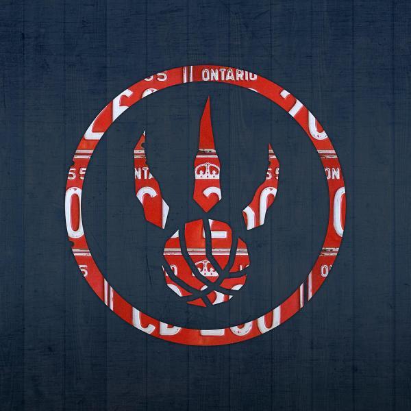 Toronto Raptors Basketball Team Retro Logo Vintage