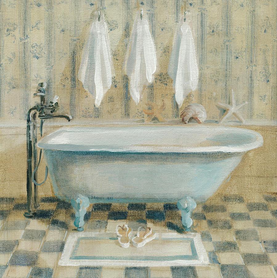 Victorian Bath Iv Painting by Danhui Nai