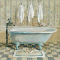 Victorian Bath Iv Painting by Danhui Nai