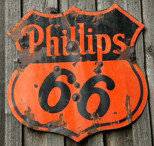 Vintage Phillips 66 Sign