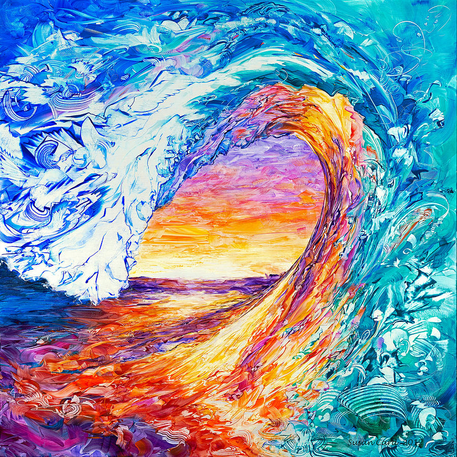 wave of creativity by