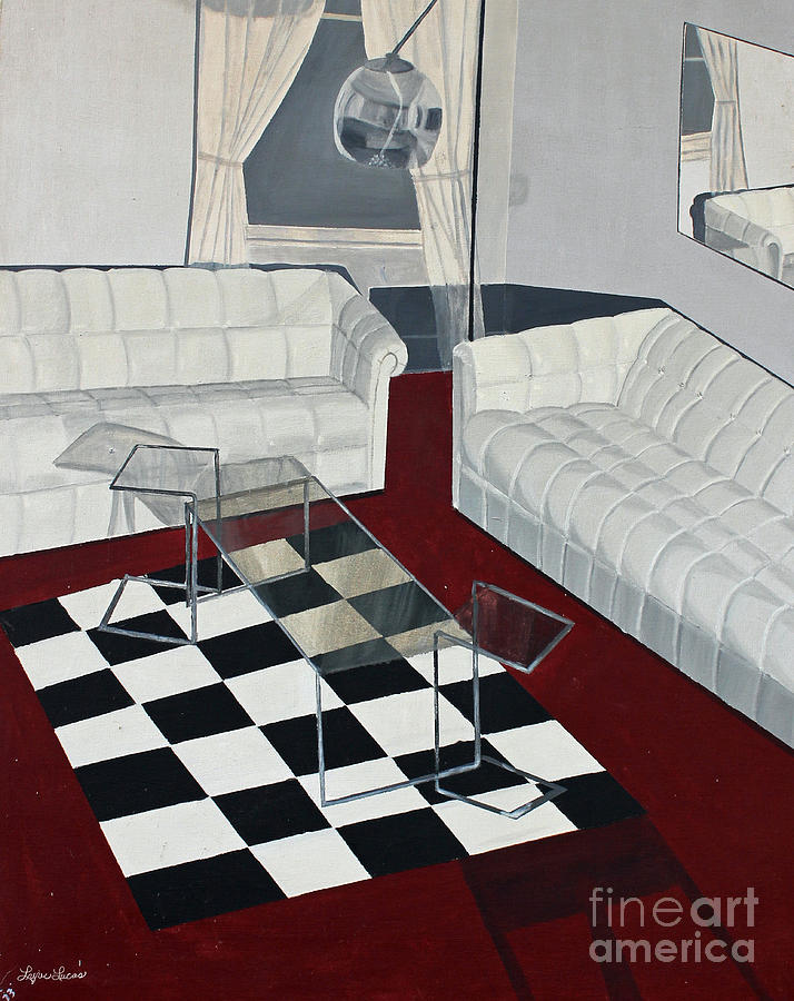 White Room Painting by Lyric Lucas