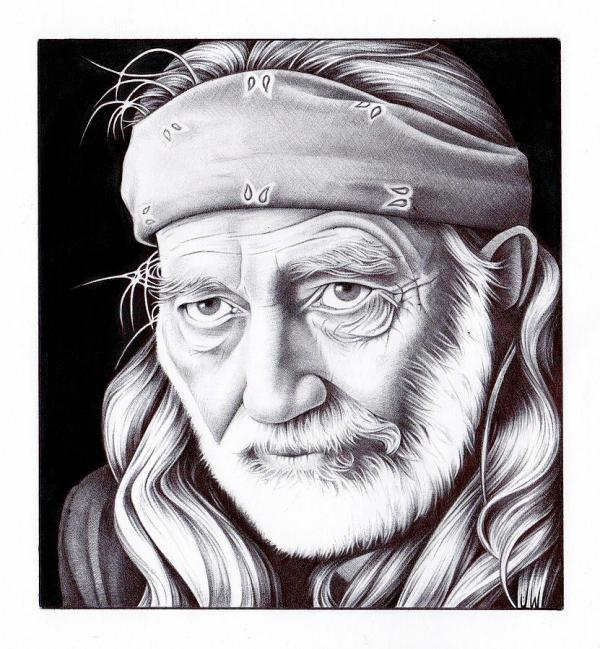 Willie Nelson Coloring Page Imgurl