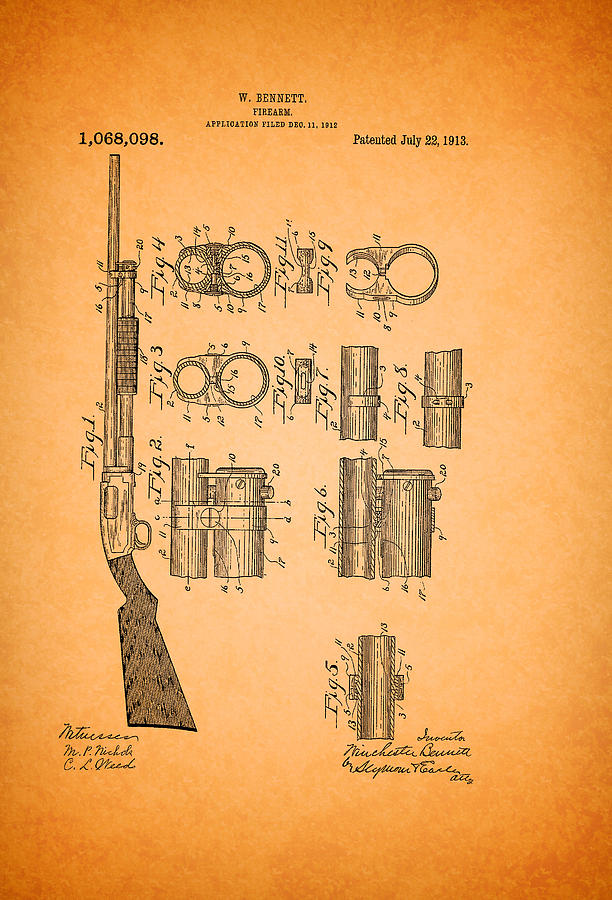Pump Shotgun Drawings Pump Action Shotgun Pdf