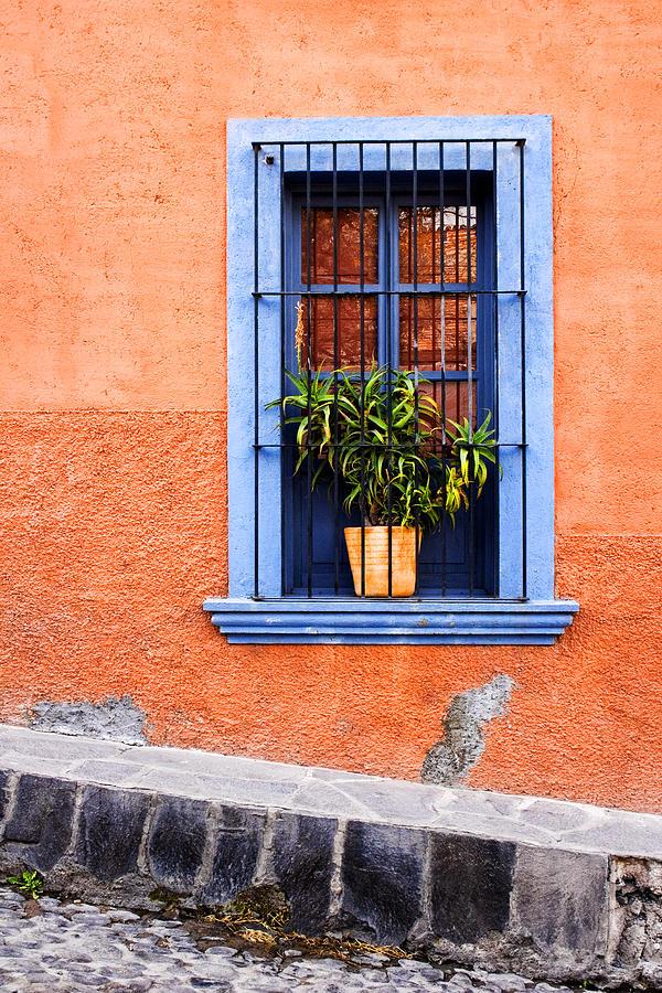 Window In San Miguel De Allende Mexico Photograph by Carol