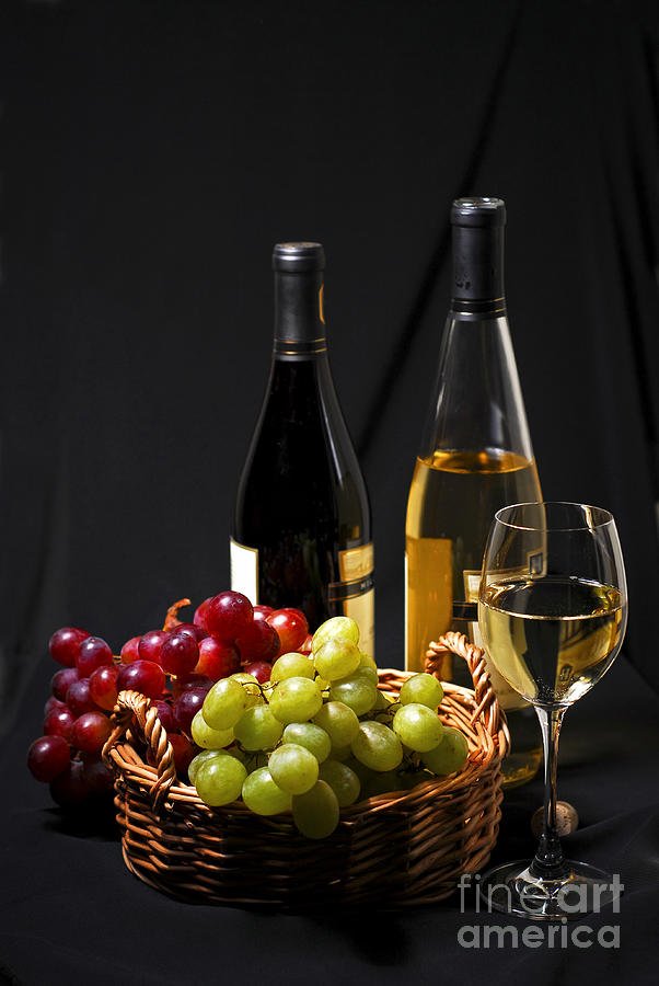 Chargers Iphone Wallpaper Wine And Grapes Photograph By Elena Elisseeva