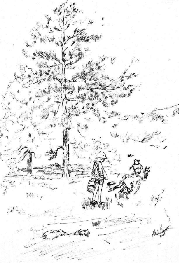 Winnie The Pooh Goes On A Picnic After E H Shepard