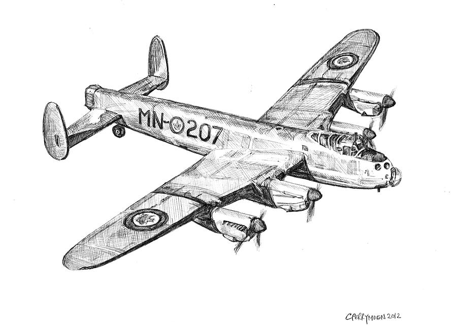 Related Keywords & Suggestions for lancaster bomber drawings