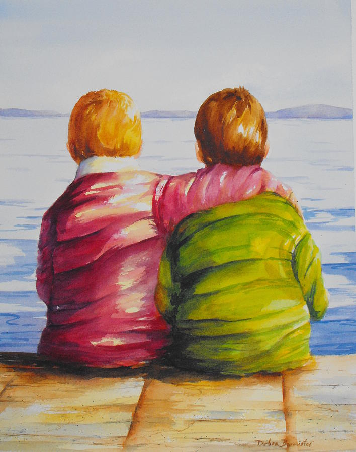 debra bannister best friends painting