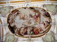 Church Ceiling Painting Painting by Suhas Tavkar