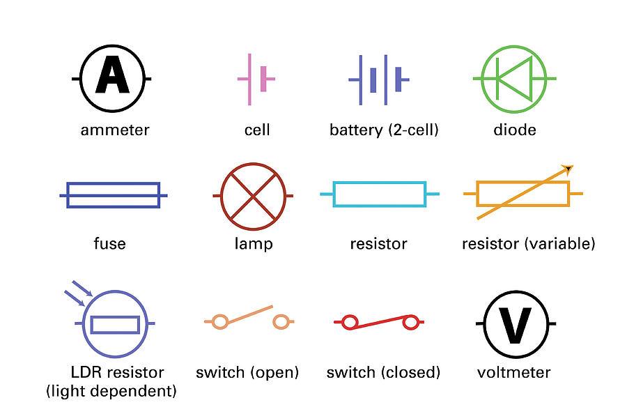 Transistors Symbol For Electrical